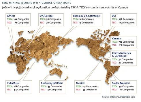 Mining World Map